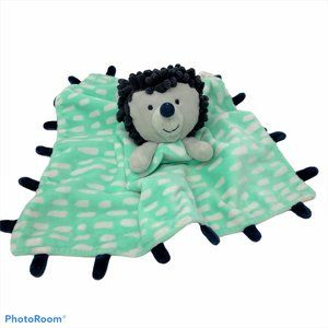 OH JOY! Smiling Hedgehog Lovey Security Blanket